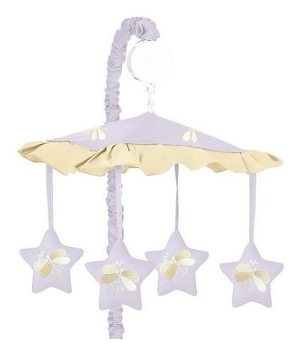 móviles,sweet jojo designs cuna musical para bebés - pur..