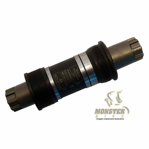 movimento central 68x118mm bb-es25 shimano ponta octalink