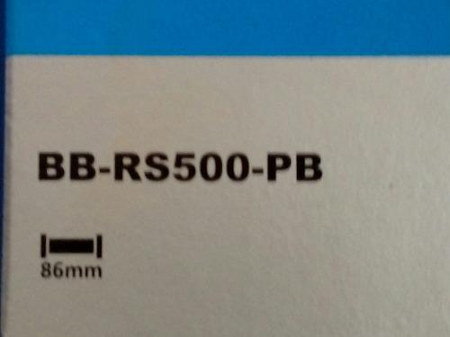 movimento central rs500 - pf 86 mm