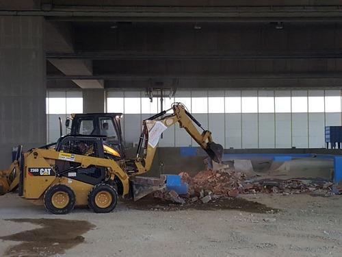 movimiento de suelo, excavaciones, zanjeo, nivelacion