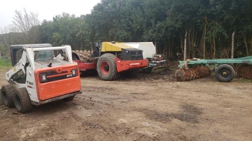 movimiento de suelo excavaciones.alquiler de maquinaria vial