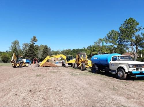 movimiento de suelo-plateas-desmonte-excavaciones-zona norte
