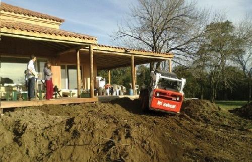 movimiento de suelo - tosca - tierra - limpieza - aridos