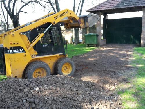 movimiento de suelo venta de tierra jardín tosca piedra aren
