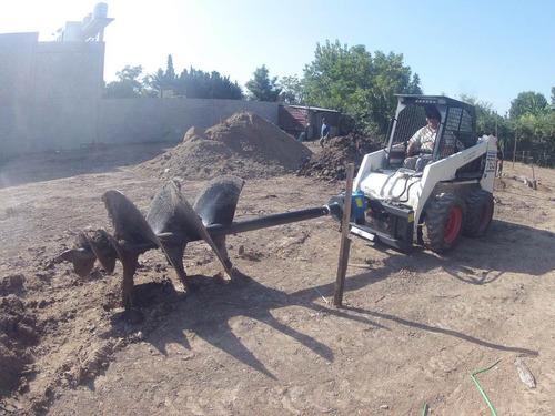 movimiento de suelos - alquiler de minicargadora bobcat