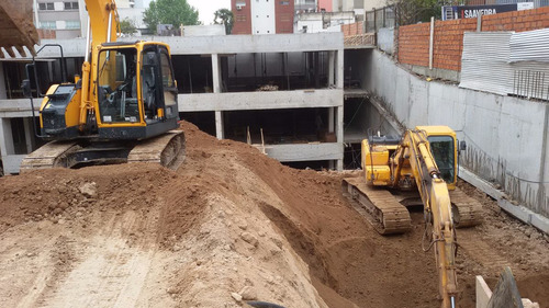 movimiento de suelos - demoliciones - excavaciones