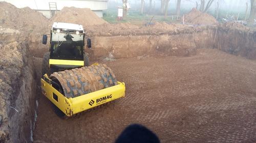 movimiento de suelos y alquiler de máquinas viales