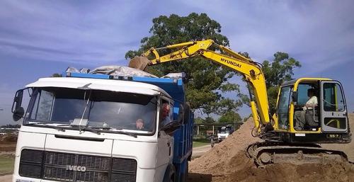 movimientos de suelo, demoliciones, excavaciones, entoscado