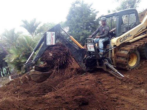 movimientos de tierra | excavaciones | demoliciones