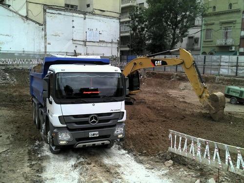 movimientos de tierra, tosca, excavaciones, demoliciones etc