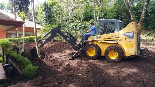 movimientos de tierra y demoliciones minicargador bobcat