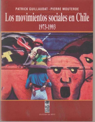 movimientos sociales en chile 1975-93 guillaudat mouterde