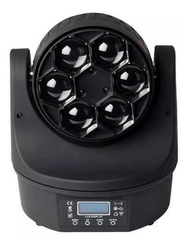 moving bee eye 6 leds osram de 15w rgbw quadriled somos loja