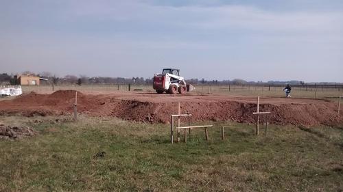 movinientos de suelos ,plateas ,demoliciones ,camiones volc.
