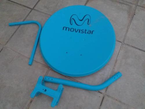movistar hd decodificador hd antena+ control usado 60trump