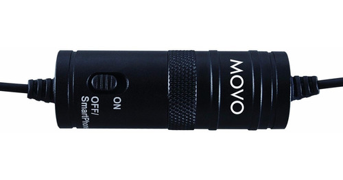 movo micrófono de solapa para nikon d5500 d810 d750 0504
