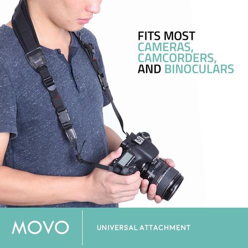 movo photo ns-1 shock-absorbing acolchado neopreno cámara cu