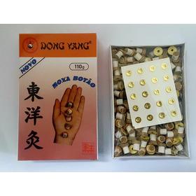 Moxa Botão Moxabustão Moxa Adesiva Artemisia Dong Bang Corea