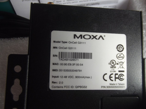 moxa g3111   modem  puerto ip  4 bandas