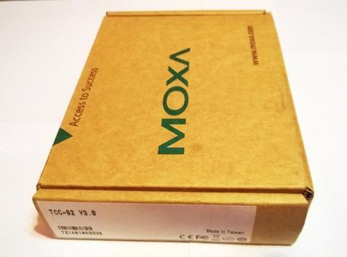 moxa tcc-82 serial port powered rs-232 4 ch optical isolator
