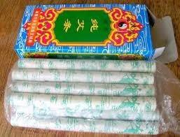 moxa tipo tabaco en caja de diez unidades