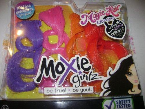 moxie girlz magic hair extensiones