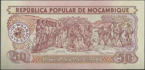 mozambique 50 meticais 16 jun 1983 p129a