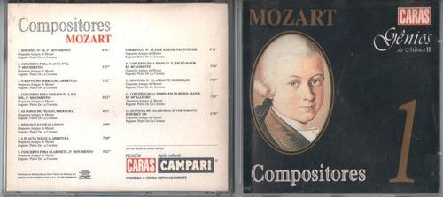 mozart cd genios da musica ii otimo estado