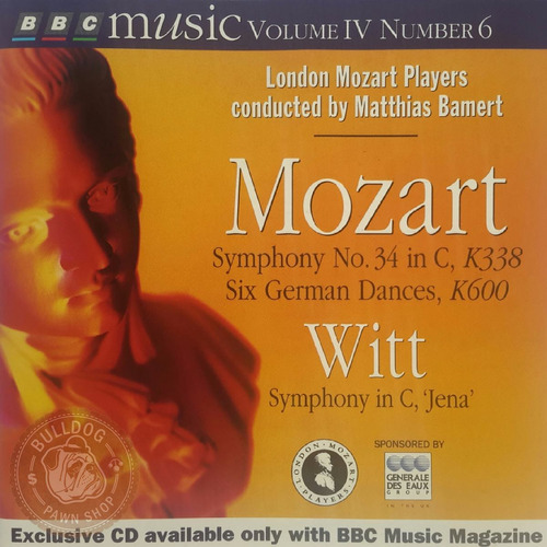 mozart cd importado london mozart players made in germany a1