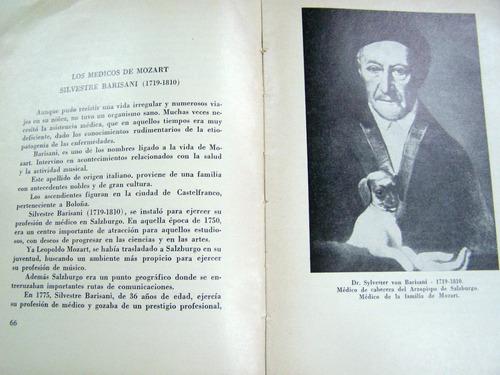 mozart visto por un medico * arnaldo yodice * 1970 *