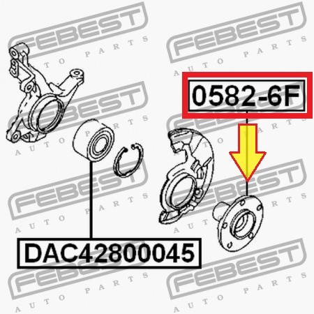 H /& r ensanchamiento 60mm sistema DRM fit 1444