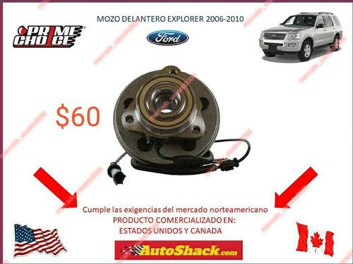 mozo o cubo de rueda delantera ford explorer 2006-2011