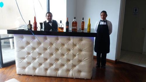 mozos; bartender adomicilio,barman,barra movil