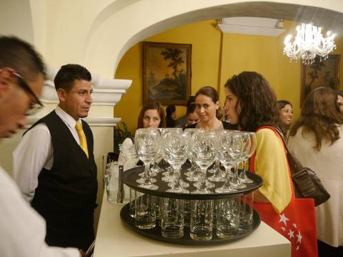 mozos y bartender a domicilio