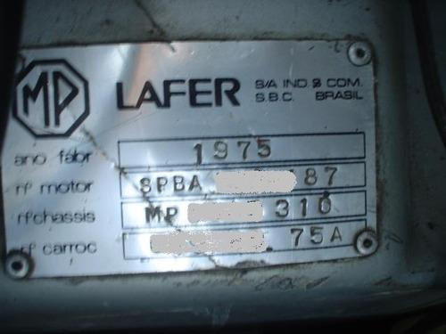 mp lafer 1975 original