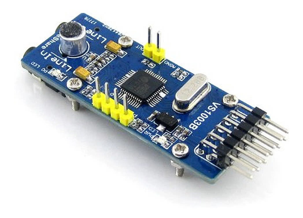 Mp3 Board Audio Entrada Salida Módulo Para Arduino Diy