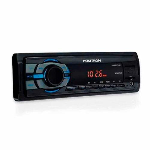 mp3 carro rádio positron sp2210 ub usb sd mp3 player fm aux