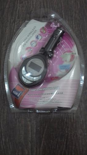 mp3 fm modulator - sd card, pendrive, audio cable
