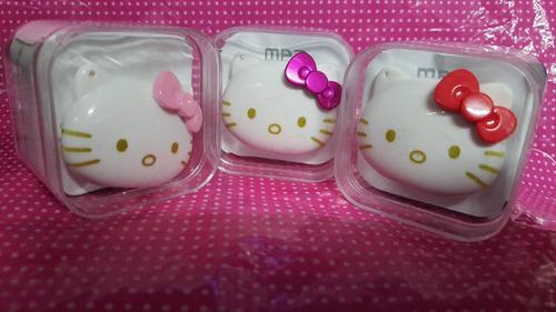 mp3 hello kitty con audifonos y cable usb