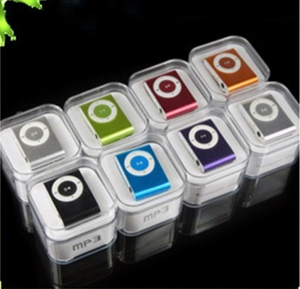 mp3 mini clip shuffle con auriculares hasta 8gb con micro sd