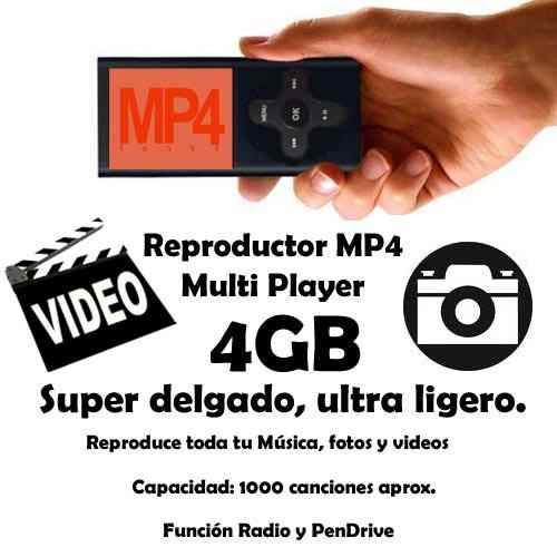 mp3 mp4 reproductor