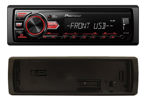 mp3 player 1din pioneer usb + alto falantes 6x9 400w som