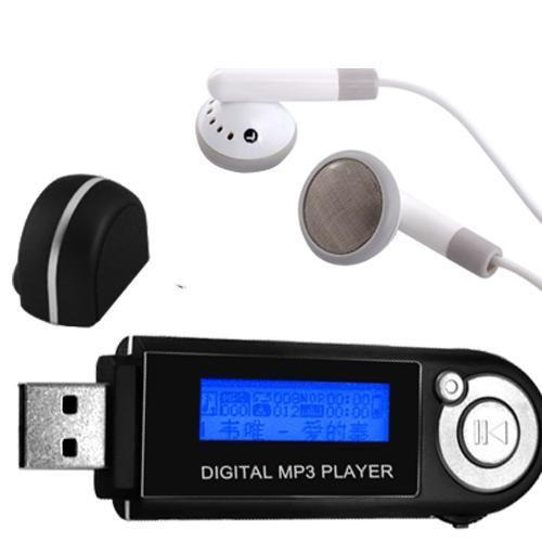 mp3 player 2 gb visor lcd pendrive à pilha