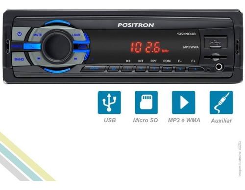 mp3 player automotivo entrada usb micro sd auxiliar pósitron