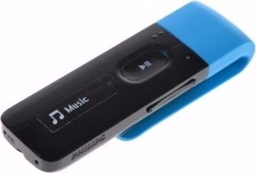 Mp3 Player Philips Gogear Mix 4gb Sa5mxx04/97 Radio Fm