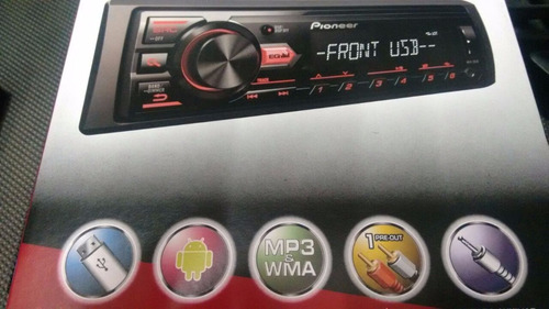 mp3 player pioneer mvh-88ub