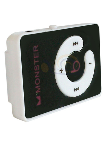 mp3 player reproductor monster negro