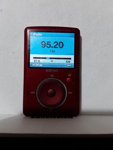 mp3 sansa fuze 4gb radio fotos grabacion y mas con expansion