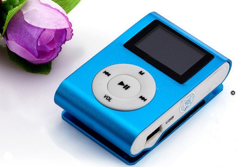 mp3 shuffle ranura micro sd bateria reproductor radio fm
