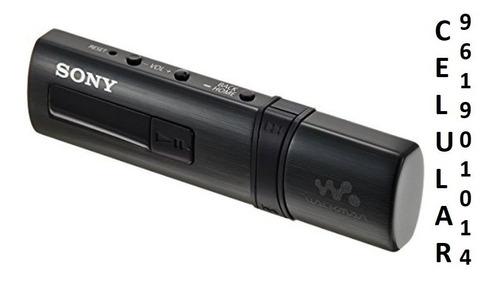 mp3 sony walkman 4gb nwz-b183f extra bass sellado
